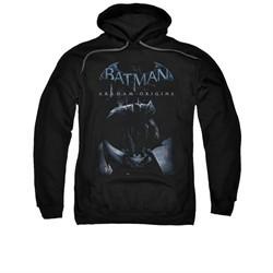 Arkham Origins Hoodie Perched Black Sweatshirt Hoody