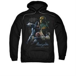 Arkham Origins Hoodie Punch Black Sweatshirt Hoody