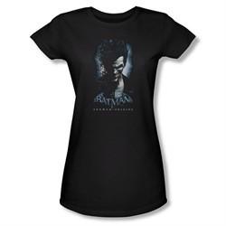 Arkham Origins Shirt Juniors Joker Black T-Shirt