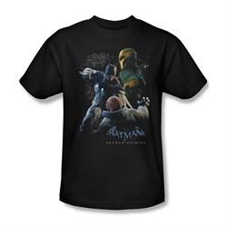 Arkham Origins Shirt Punch Black T-Shirt