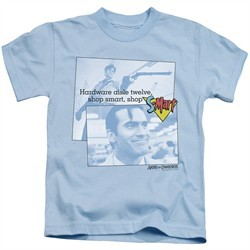 Army Of Darkness Kids Shirt Shop S Mart Light Blue T-Shirt