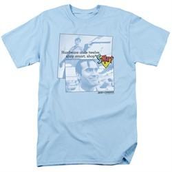 Army Of Darkness Shirt Shop S Mart Light Blue T-Shirt