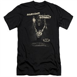 Army Of Darkness Slim Fit Shirt Want Some Black T-Shirt
