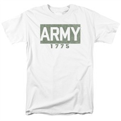 Army Shirt 1775 White T-Shirt
