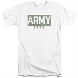 Army Shirt 1775 White Tall T-Shirt