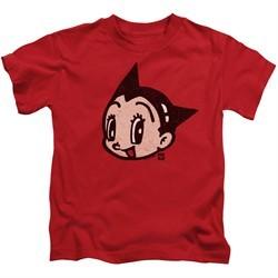 Astro Boy Kids Shirt Face Red T-Shirt