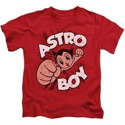 Astro Boy Kids Shirt Flying Red T-Shirt