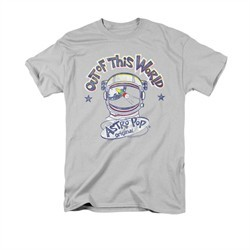Astro Pop Shirt Out Of This World Silver T-Shirt