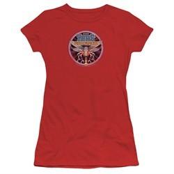 Atari Juniors Shirt Yars Revenge Patch Red T-Shirt