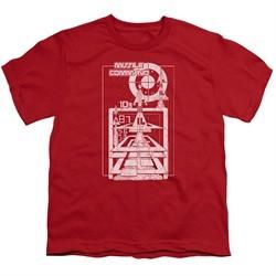 Atari Kids Shirt Lift Off Red T-Shirt