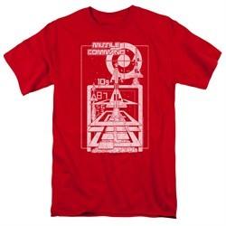 Atari Shirt Lift Off Red T-Shirt