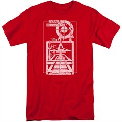 Atari Shirt Lift Off Red Tall T-Shirt