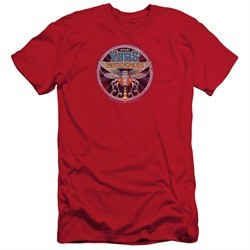 Atari Slim Fit Shirt Yars Revenge Patch Red T-Shirt