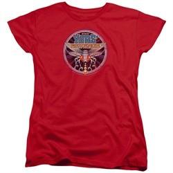 Atari Womens Shirt Yars Revenge Patch Red T-Shirt
