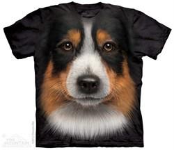 Australian Shepherd Shirt Tie Dye Adult T-Shirt Tee