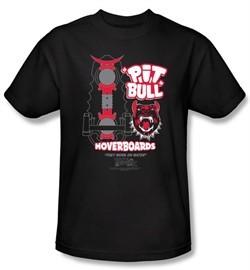 Back To The Future II Kids T-shirt Pit Bull Black Tee Shirt Youth