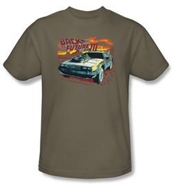 Back To The Future III Kids T-shirt Movie Wild West Safari Shirt Youth