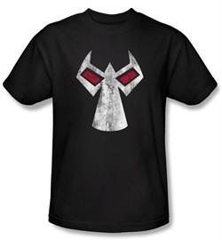 Bane DC Comics T-Shirt Batman Series Mask Adult Black Tee Shirt
