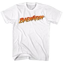 Baywatch Shirt Baewatch Logo White T-Shirt
