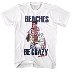 Baywatch Shirt Mitch Buchannon White T-Shirt