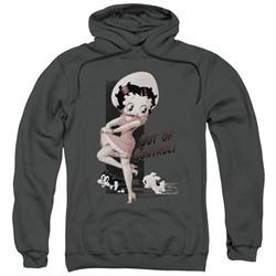 Betty Boop Hoodie Out Of Control Charcoal Sweatshirt Hoody