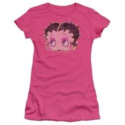 Betty Boop Juniors Shirt Pop Art Boop Hot Pink T-Shirt