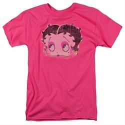 Betty Boop Shirt Pop Art Boop Hot Pink Tee T-Shirt