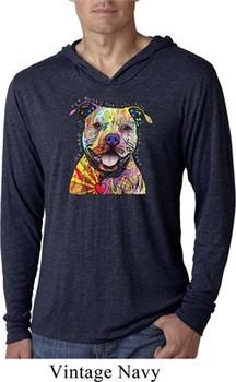Beware of Pit Bulls Lightweight Hoodie Shirt