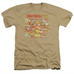 Big Brother And The Holding Company Shirt Cheap Thrills Heather Sand T-Shirt