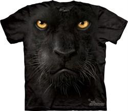 Black Panther Shirt Tie Dye Cat Face Adult T-shirt Tee