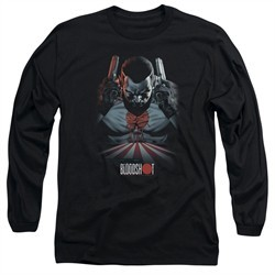 Bloodshot Shirt Blood Lines Long Sleeve Black Tee T-Shirt