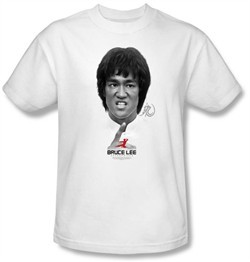 Bruce Lee Kids T-shirt Youth Self Help White