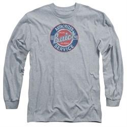 Buick Long Sleeve Shirt Authorized Service Athletic Heather Tee T-Shirt