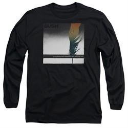 Bush Long Sleeve Shirt Feather Black Tee T-Shirt