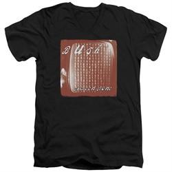 Bush Slim Fit V-Neck Shirt Sixteen Stone Black T-Shirt
