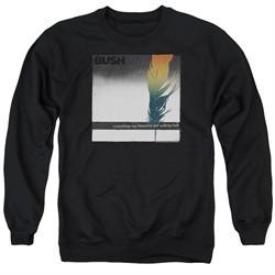 Bush Sweatshirt Feather Adult Black Sweat Shirt