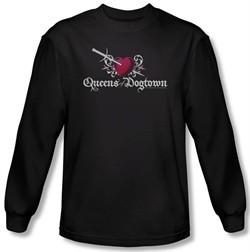 Californication Shirt Queens Of Dogtown Black Long Sleeve T-Shirt Tee
