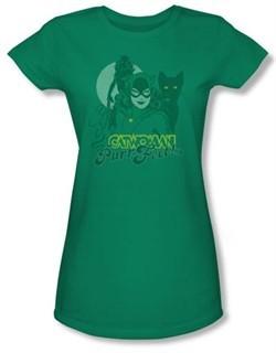 Catwoman Juniors T-shirt
