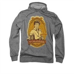 Cheers Womanizer Hoodie Sweatshirt Black Adult Hoody Sweat Shirt