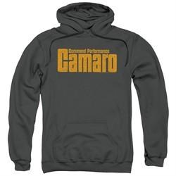 Chevy Hoodie Camaro Command Performance Charcoal Sweatshirt Hoody