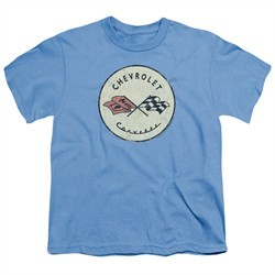 Chevy Kids Shirt Old Vette Carolina Blue T-Shirt