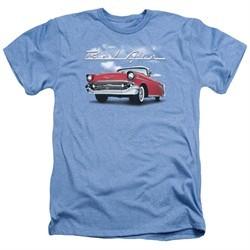 Chevy Shirt Bel Air Clouds Heather Light Blue T-Shirt