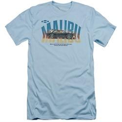 Chevy Slim Fit Shirt Malibu Light Blue T-Shirt