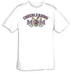 Cheerleading Mom Sport Adult T-shirt Tee Shirt