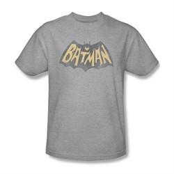 Classic Batman Shirt Show Logo Athletic Heather T-Shirt