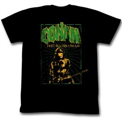 Conan Shirt In the Green Adult Black Tee T-Shirt