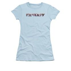 Concord Music Group Shirt Juniors Fantasy 80's Light Blue T-Shirt