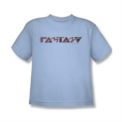 Concord Music Group Shirt Kids Fantasy 80's Light Blue T-Shirt