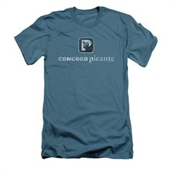 Concord Music Group Shirt Slim Fit Picante Vintage Slate T-Shirt