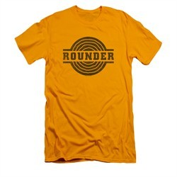 Concord Music Group Shirt Slim Fit Rounder Distressed Gold T-Shirt